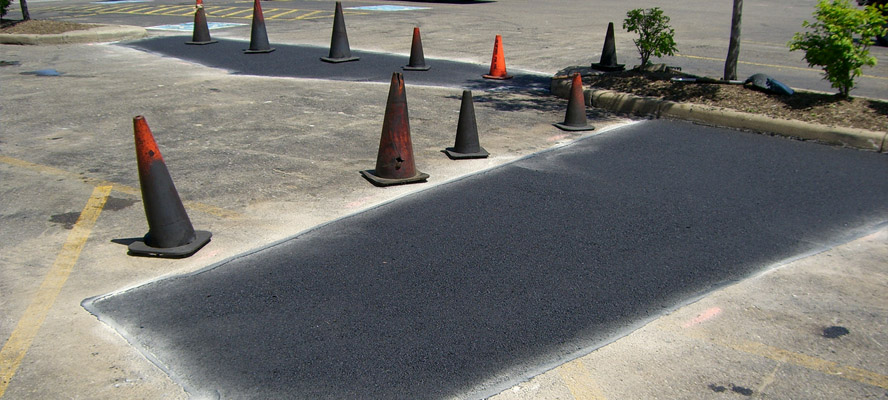 Asphalt Patching Techniques for Roads, Pavements and Parking Lots